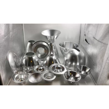 CNC custom aluminum metal spinning  parts