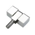 Bright Chrome Plated Steel Cabinet Screw Bolt Hinge