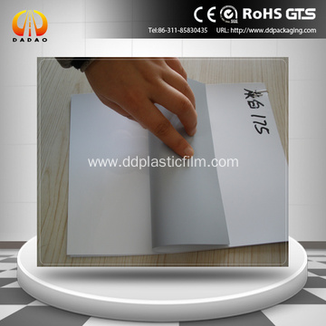 PET grey white film for inkjet printing advertisement