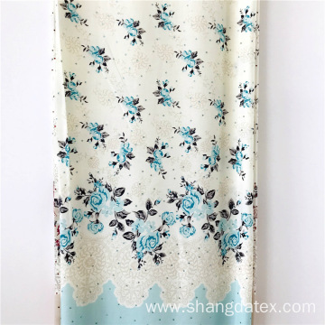 Rayon Screen Printed Fabric