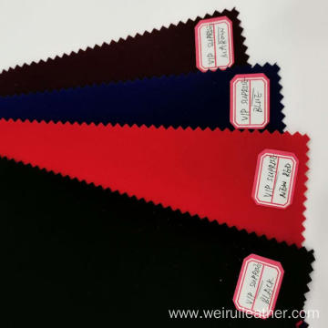 Colorful Single Flocking Fabric