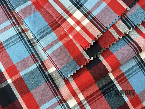 Check Design Yarn Dyed Fabric For Shirt