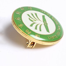 Custom high quality enamel lapel pins with epoxy