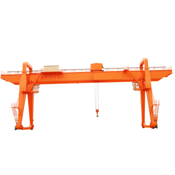 120 ton large double beam gantry crane design