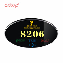 ACTOP hotel electronic hotel room number plates