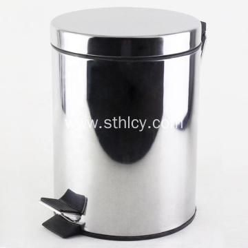 SUS 410 Household Airtight Stainless Steel Garbage Can
