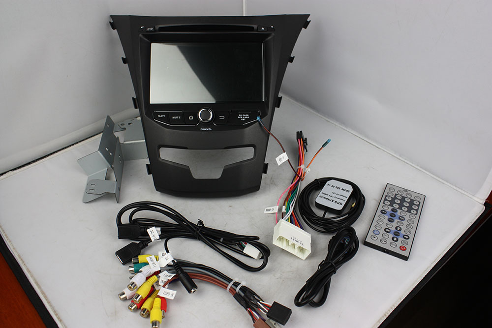 android car DVD for Ssangyong Korando 2014