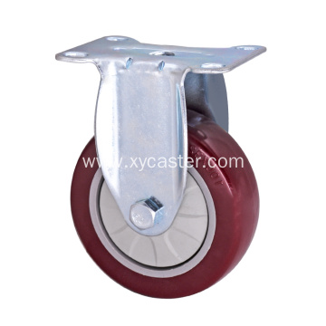 Medium Duty PVC(PU) Wheel Caster- Single Bearing