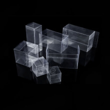 PVC Acetate Box Malinaw na Plastikong PET Fold Box