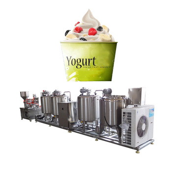 Drinking Fresh Milk Yogurt Processing Line Cup Package
