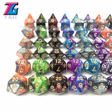 Dice DND Die Toys 26 Colors for Adults Kids Plastic Cubes Special Birthday Gift Board Game Accessories