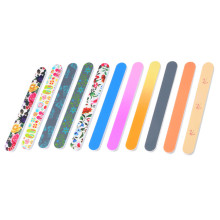 Gift Promotion Straight Curved Shape Colorful Nail File