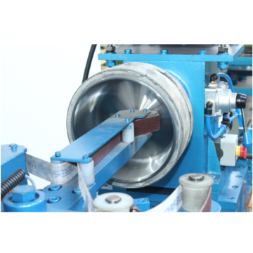 Metal ware double stations upright sanding machine