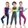 Kids One Piece Long Sleeve Swimsuit