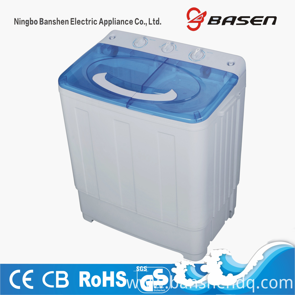 7.2kg twin tub washing machine