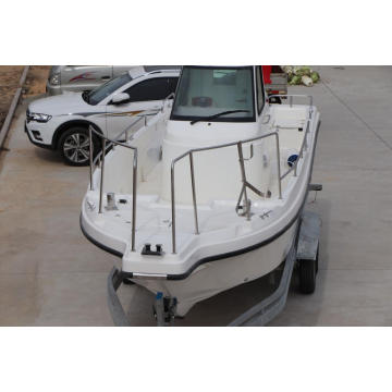 speed racing and fishing fiberglass cabin boat