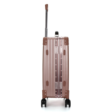Expandable Hardside Aluminum Luggage Spinner Wheels Trolley