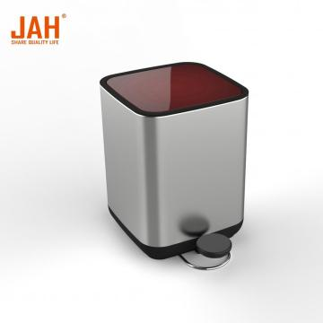 5L Round Stainless Steel Pedal Trash Bin