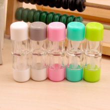 Small Cute Portable Contact Lens Case Travel Eyewear Case Contact Lenses Container Box Glasses Lenses Accessories Gift