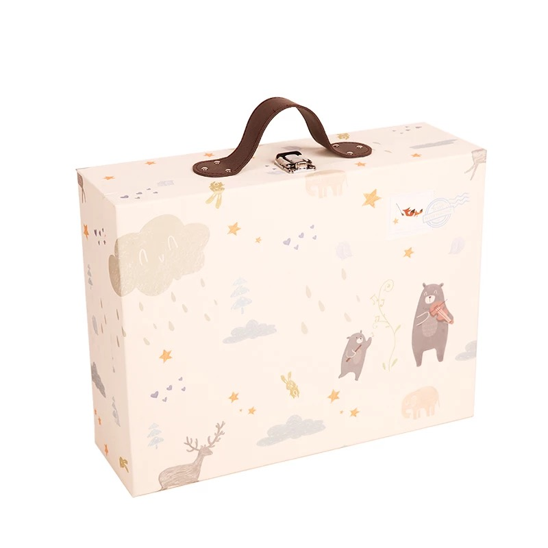 Baby Suitcase Luxury Packaging Box