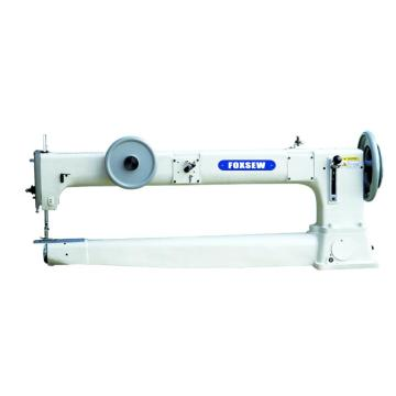 Long arm Drum-type Flat Seaming Heavy duty sewing Machine with Transverse Feeding