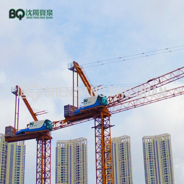 55m Luffing Jib Tower Crane