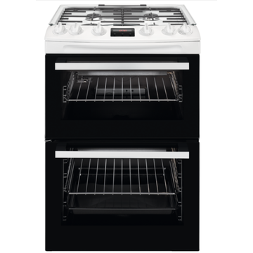 White Gas Oven Freestanding Cooker