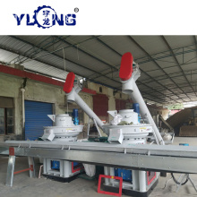 Yulong Xgj560 Wood Pellet Mill للبيع