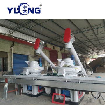 Yulong Xgj560 Wood Pellets Machine Making