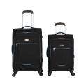 Fabric Polyester travel luggage cover suitcase caster wheels