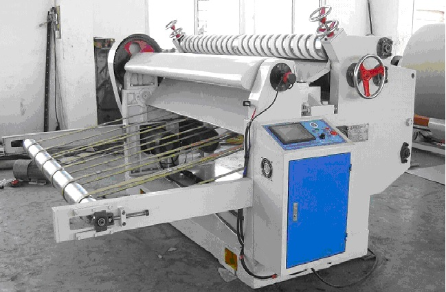 N.C Rotary Cutter for 2-Ply with slitter unit