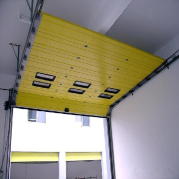 automatic overhead sectional door