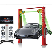 5D Wheel Alignment with Touch Screen