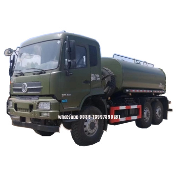Donf feng Cummins 210HP 15000liters 6X6 Water Truck