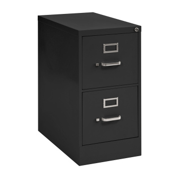 Brown and Light Brown 2D File Cabinet