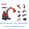 2020 new mini excavator XN08 0.8t mini digger for sale