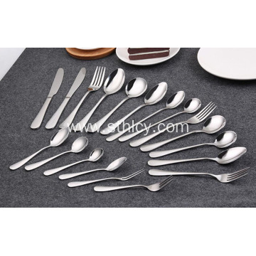 Health Stainless Steel Cutlery Knife Coffee Spoon