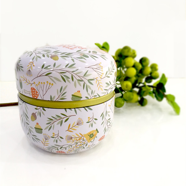 Round Small Tin Can Candy Packaging