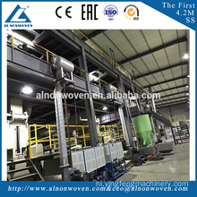 AL non woven 3200mm SMS fabric making machine