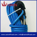 Synthetic Winch Rope with Hook Car Tow Recovery