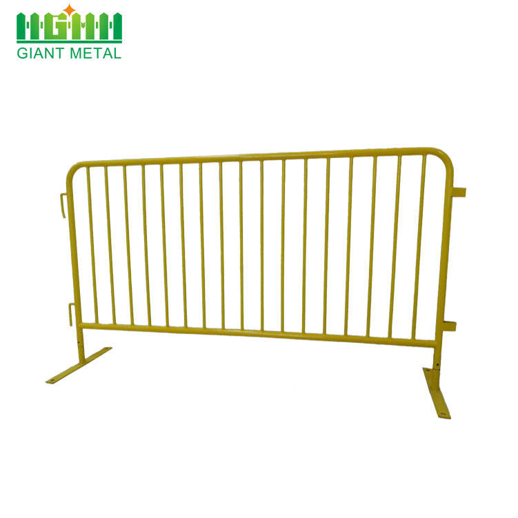 Portable crowd control fence