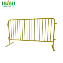 Cheap concert crowd control barrier