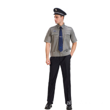 Short Sleeve Security Guard Uniform For Summer