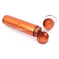 Exquisite Portable Keychain Mini Waterproof Pill Bottle