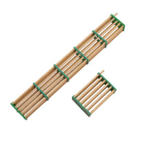 4 pcs Beekeeping Tools Plastic And Wood Mixed Queen King Cage One Section And Fives Sections Apiary Beekeeping Supplies