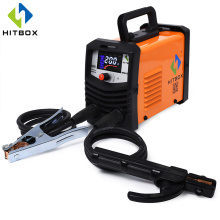 HITBOX Arc Welder MMA200 IGBT Technology New Arrival MMA Tig Welding Machine 120A Home Factory Use MMA Stick Function