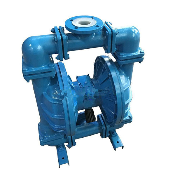 QBYC-F46 lining fluorine pneumatic diaphragm pump lining fluorine electric diaphragm pump 1