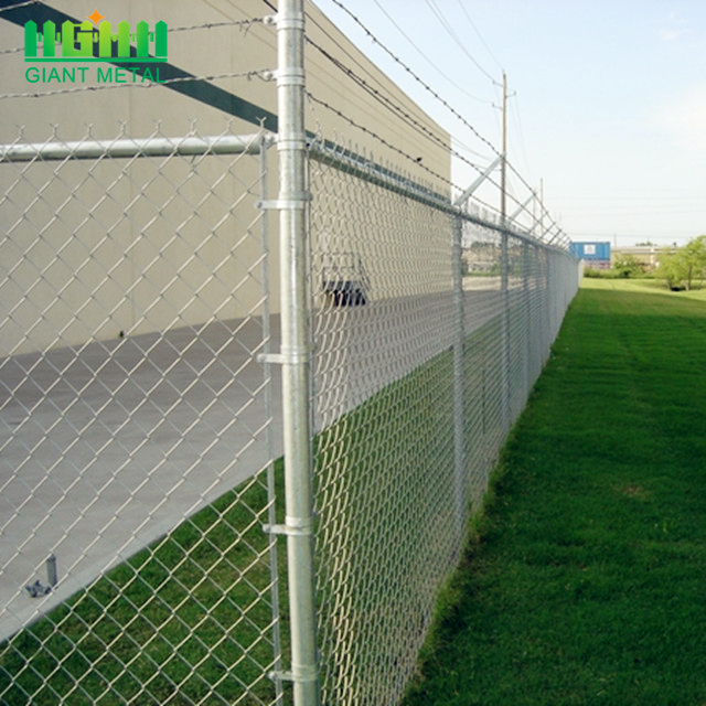 Hot Dip Galvanized Chain Link Wire Mesh Fence