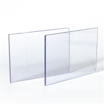 Construction ceiling clear solid polycarbonate sheet