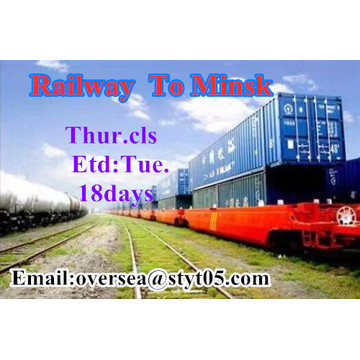 Railway Transportation To Minsk